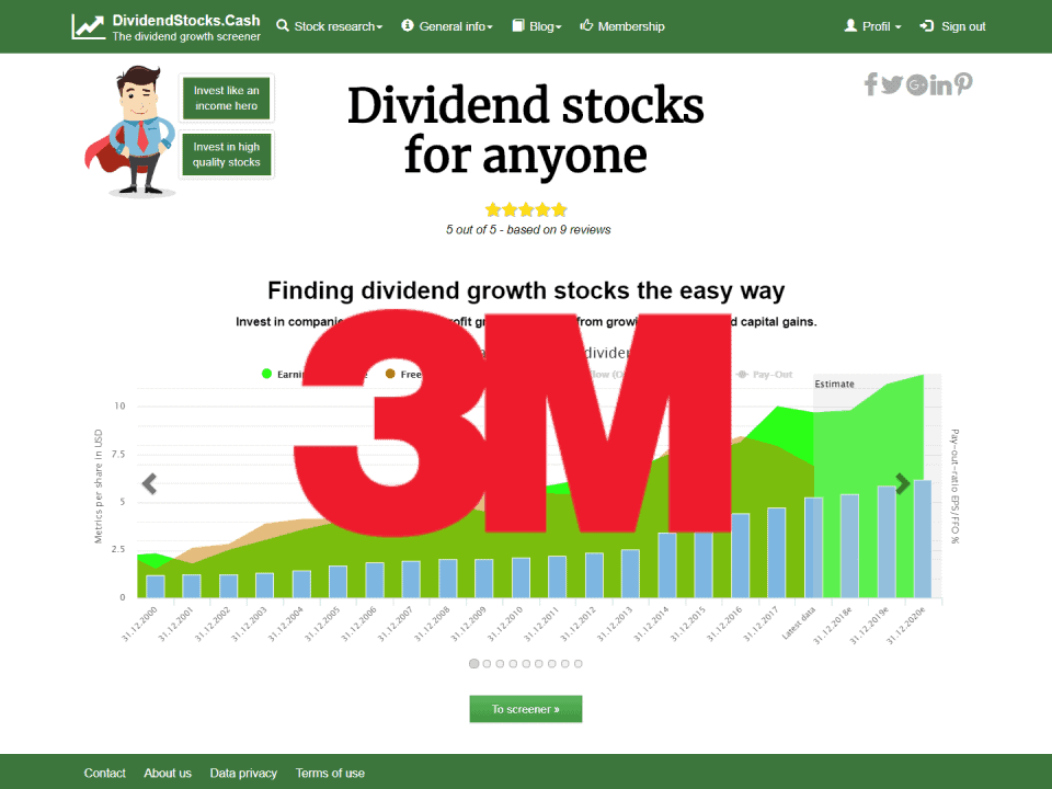 DividendstocksCash 3M stock