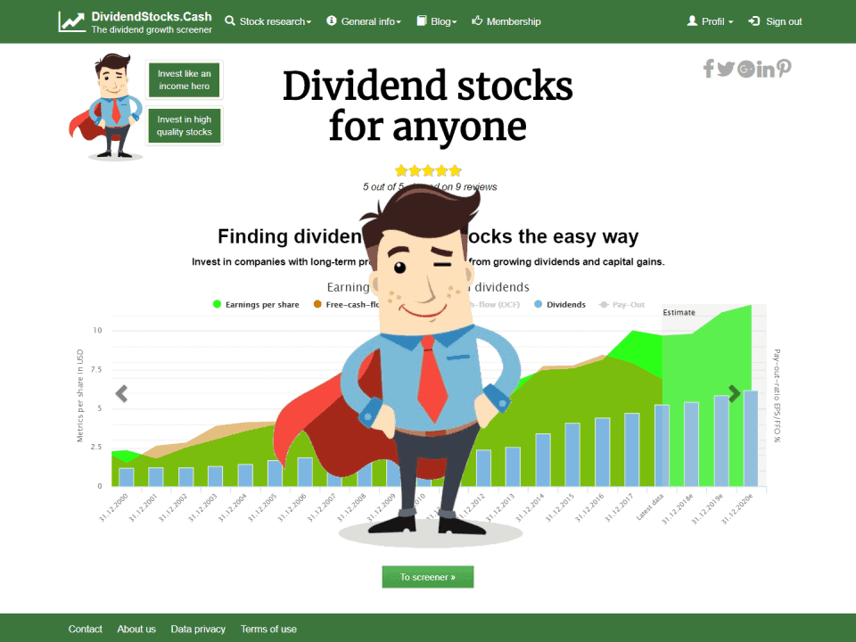 DividendstocksCash Income Heroes