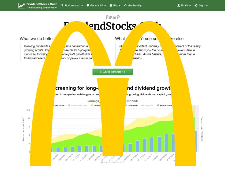 McDonalds stock –7 billion total sales lost