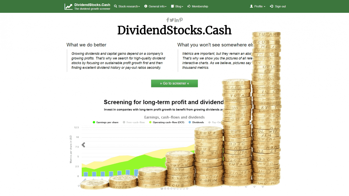 Growing Dividends and Profits