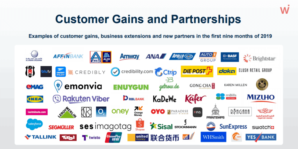 Customer Gains and Partnerships