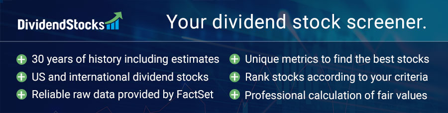 Your Dividend Stock Screener