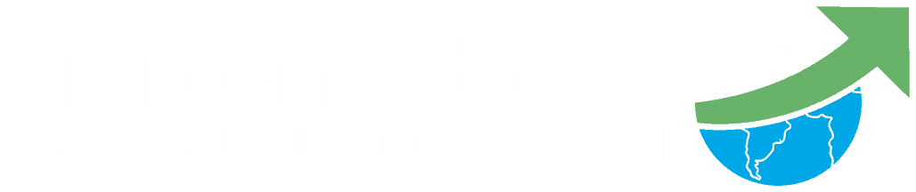 DividendStocksCash Logo - Global Dividend Growth White