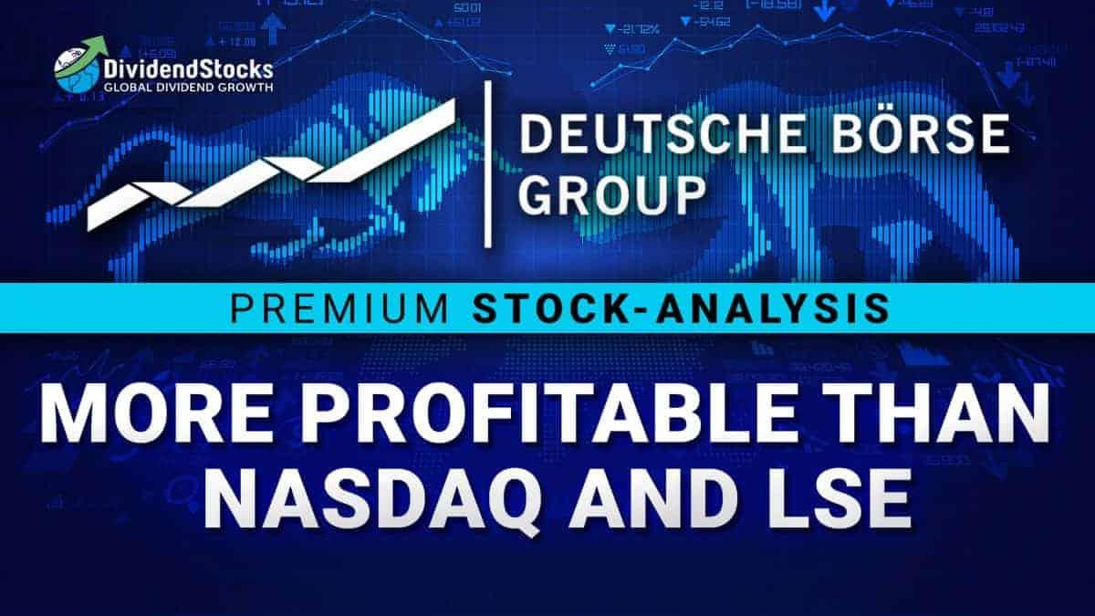 Deutsche Börse Stock – more profitable than Nasdaq and LSE